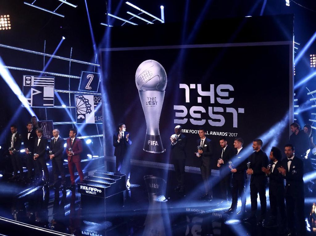 Ini Daftar Pemenang The Best FIFA Football Awards 2017