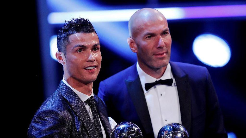 Diminta Komentari Ronaldo, Zidane: Duh, Apa Ya?