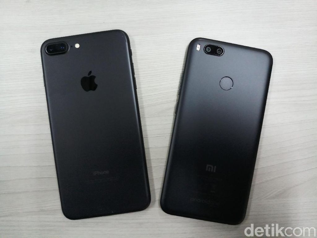 Blind Test Hasil Jepretan Mi A1 vs iPhone 7 Plus