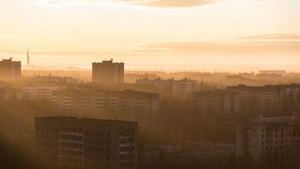 Foto: Destinasi Bekas Kebocoran Nuklir Chernobyl