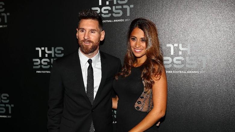 Messi Dikaruniai Anak Ketiga