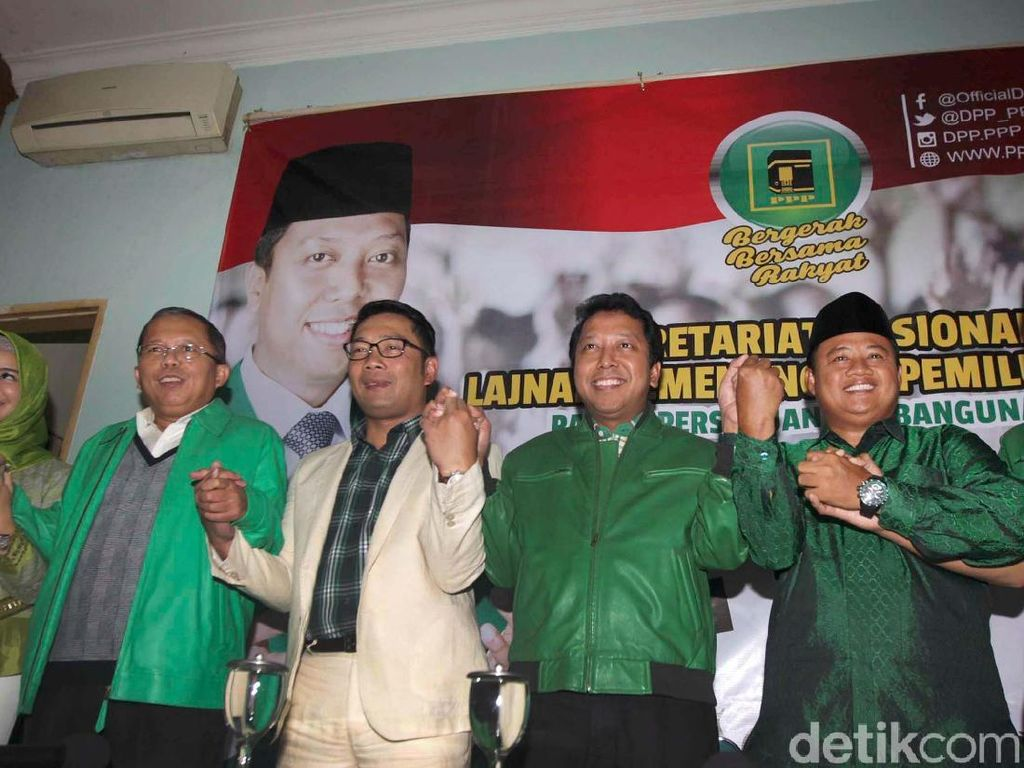 PPP Umumkan Bupati Tasik Jadi Pendamping Ridwan Kamil di Pilgub Jabar
