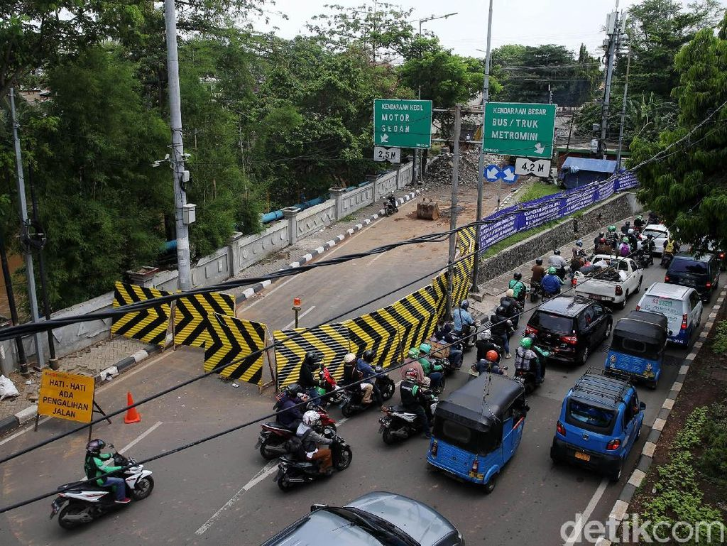 Jalan Tambak Ditutup untuk Proyek Double Double Track