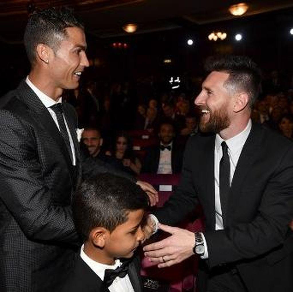 Bicara Statistik, Ronaldo Tak Lebih Baik dari Messi