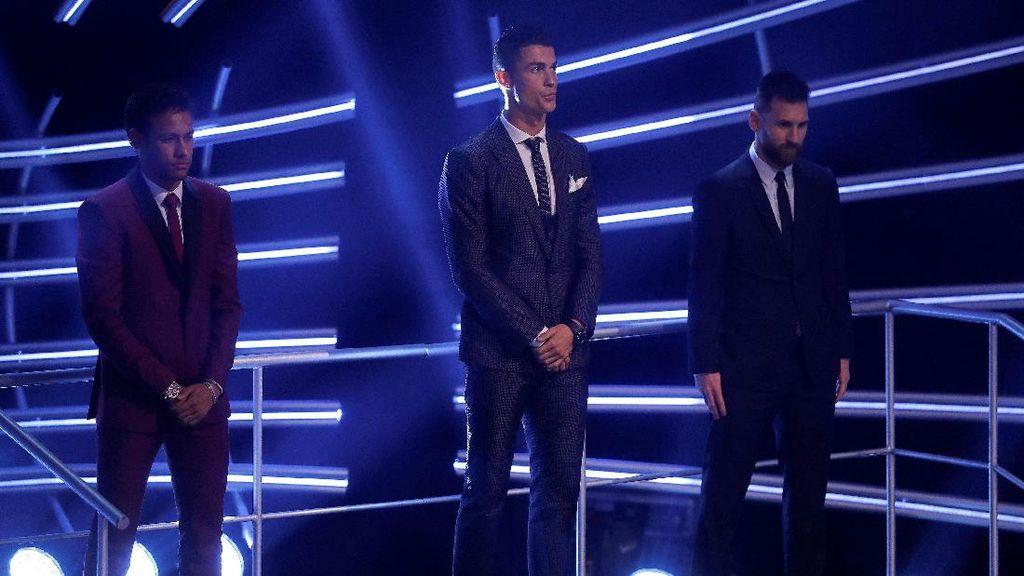 Neymar: Ronaldo Layak Jadi Pemain Terbaik Dunia