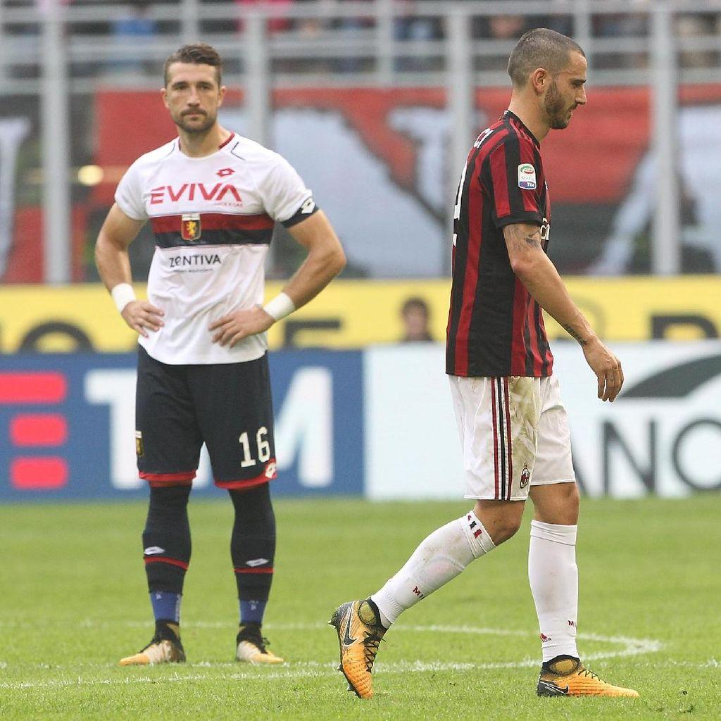 Bonucci Terpuruk karena Kartu Merah