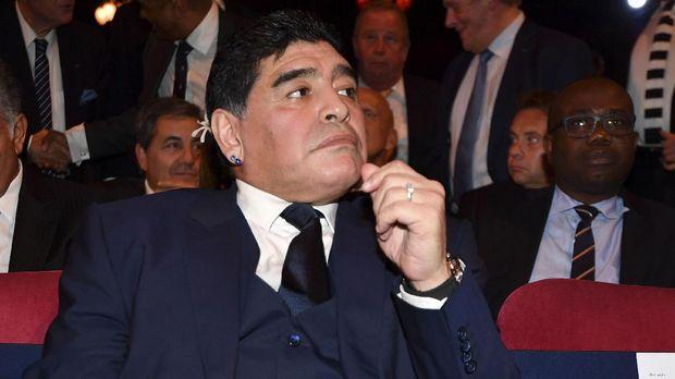Kesuksesan Diego Maradona sebagai pemain tidak menular ke pelatih.