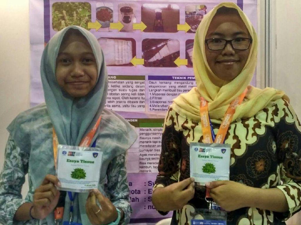 Inovatif! Tisu Ekstrak Kemangi Dibuat untuk Atasi Asma