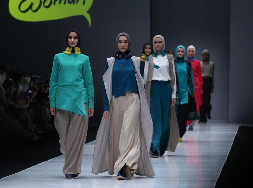 Bukan Satin, Voal Jadi Tren Hijab para Muslimah