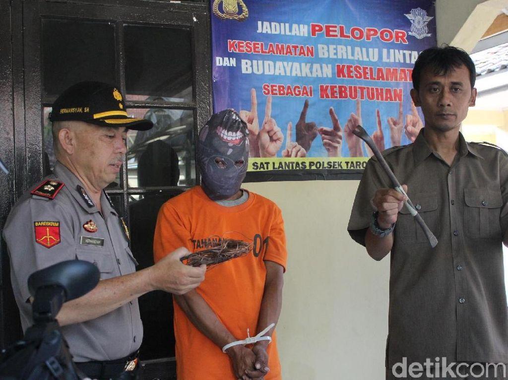 Curi Rongsokan di Garut, JR Berdalih untuk Beli Hadiah Ultah Anak