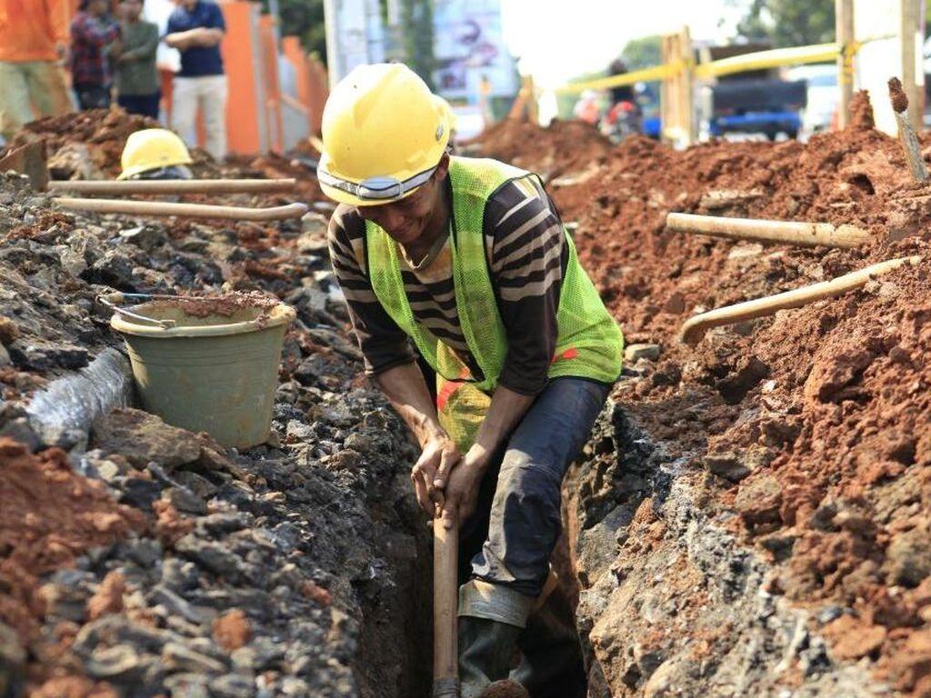 Proyek Pipa Distribusi Gas Bumi PGN di Dumai Capai 40%
