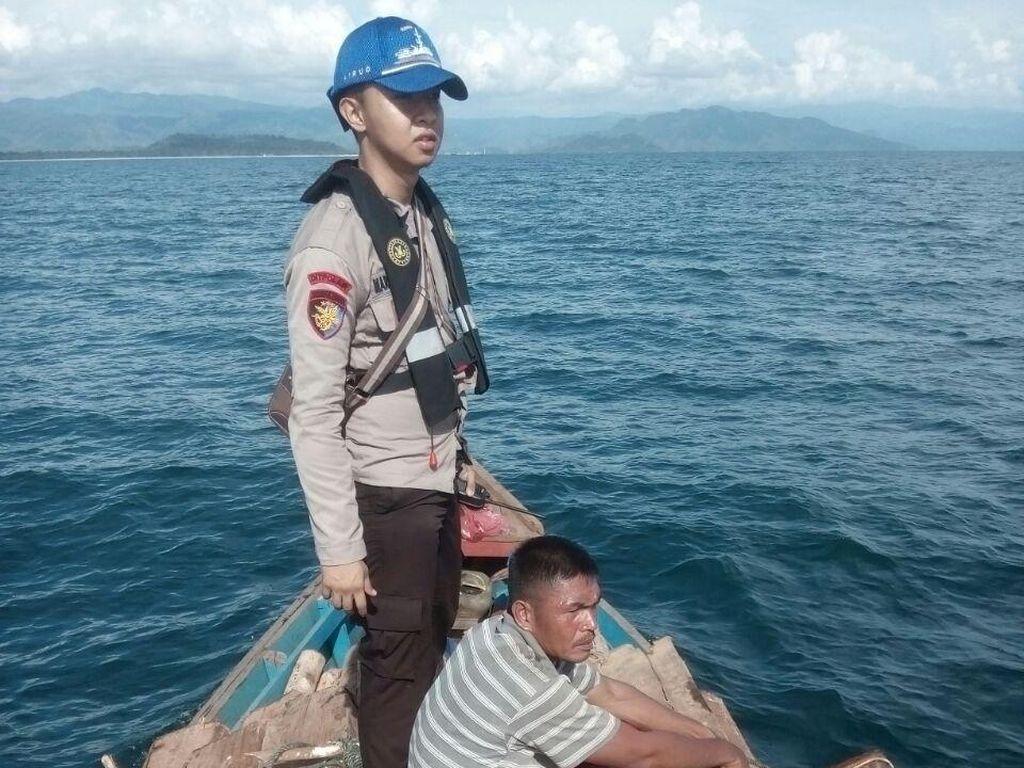 Angkut Kayu Ilegal, Kapal Tanpa Nama Ditangkap di Perairan Sumut