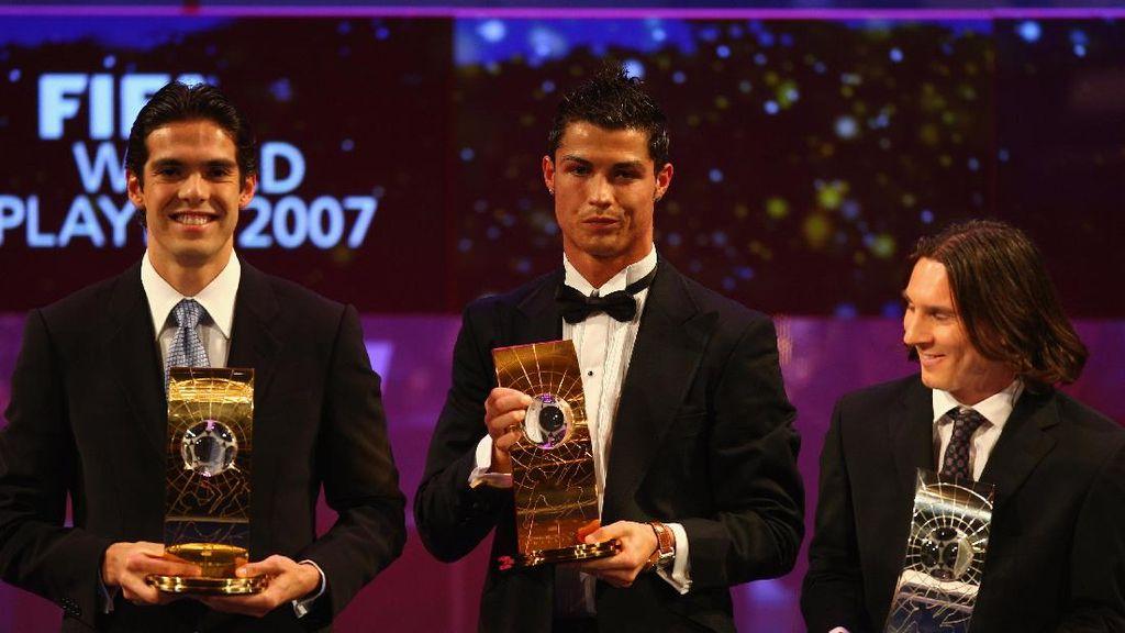Sebelum Era Ronaldo-Messi, Inilah Para Pemain Terbaik Dunia