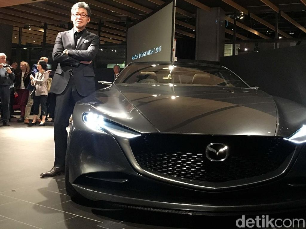 Mobil Cantik Mazda Vision Coupe