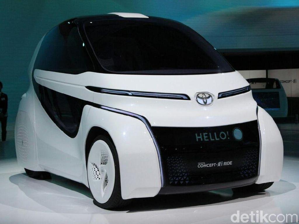 Mobil Ini Dikendarai Pakai Joystick