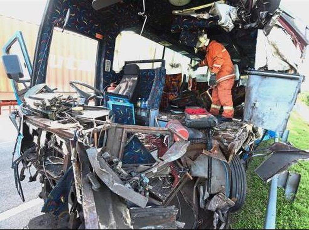 Sudah Seminggu, 4 WNI Korban Bus Maut di Malaysia Masih Kritis