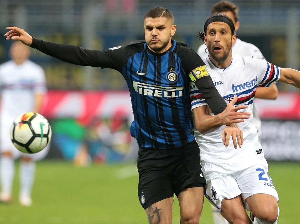 Atasi Sampdoria, Inter Rebut Puncak Klasemen