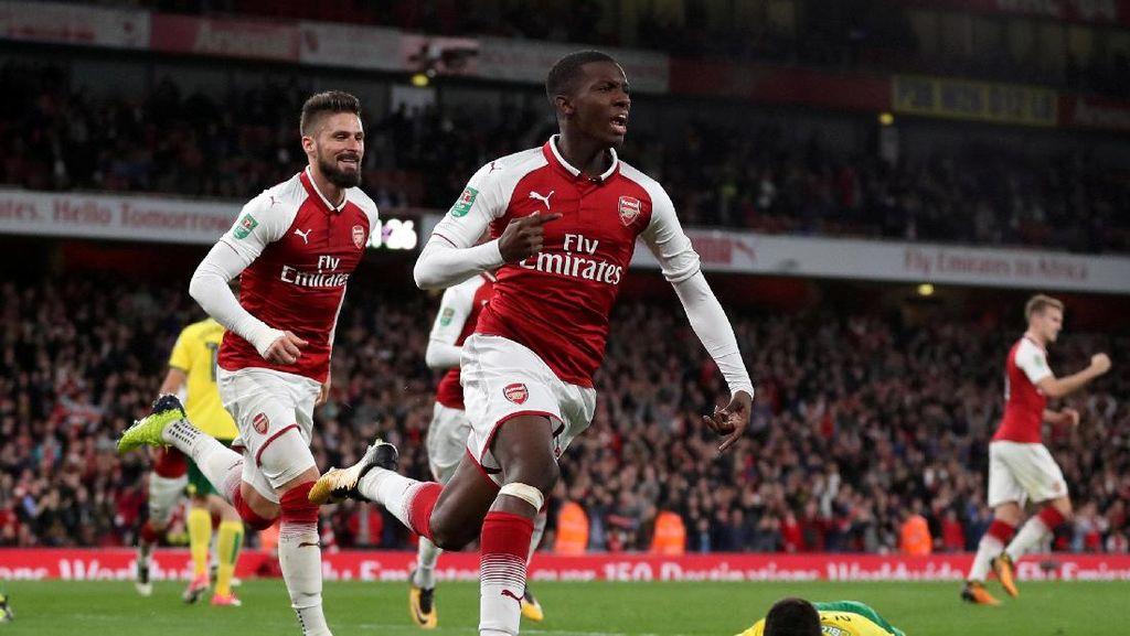 Gol Pemain Belia Selamatkan Arsenal