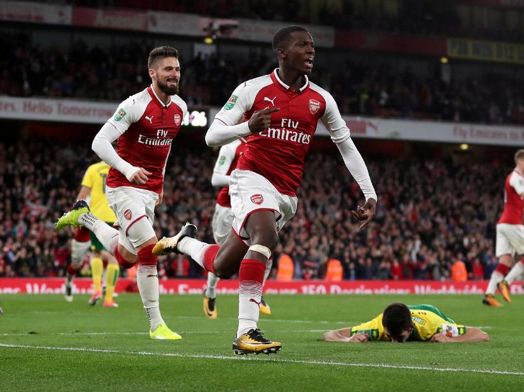 Pemain Muda Arsenal Bikin Netizen Kesengsem
