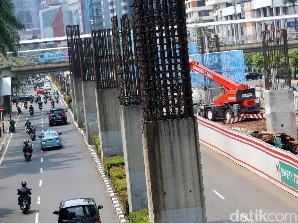 Bongkar Tiang Monorel Jakarta Dinilai Tak Mudah, Ada Polemik Utang Piutang