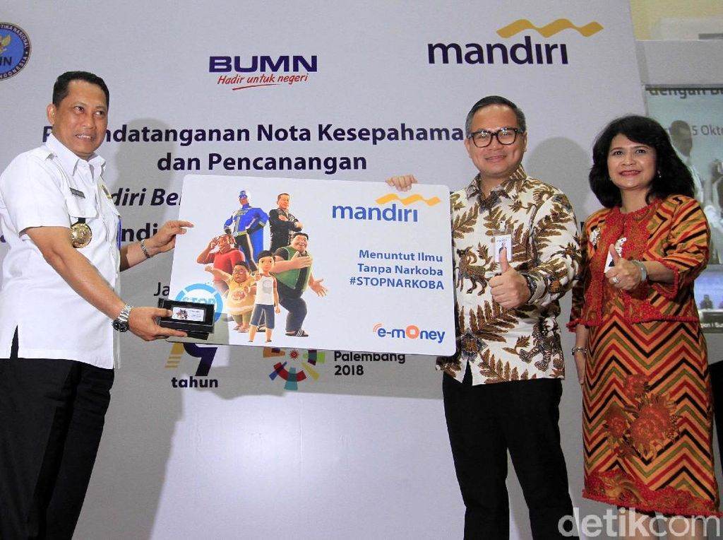 Bank Mandiri-BNN Kampanye Anti-Narkoba