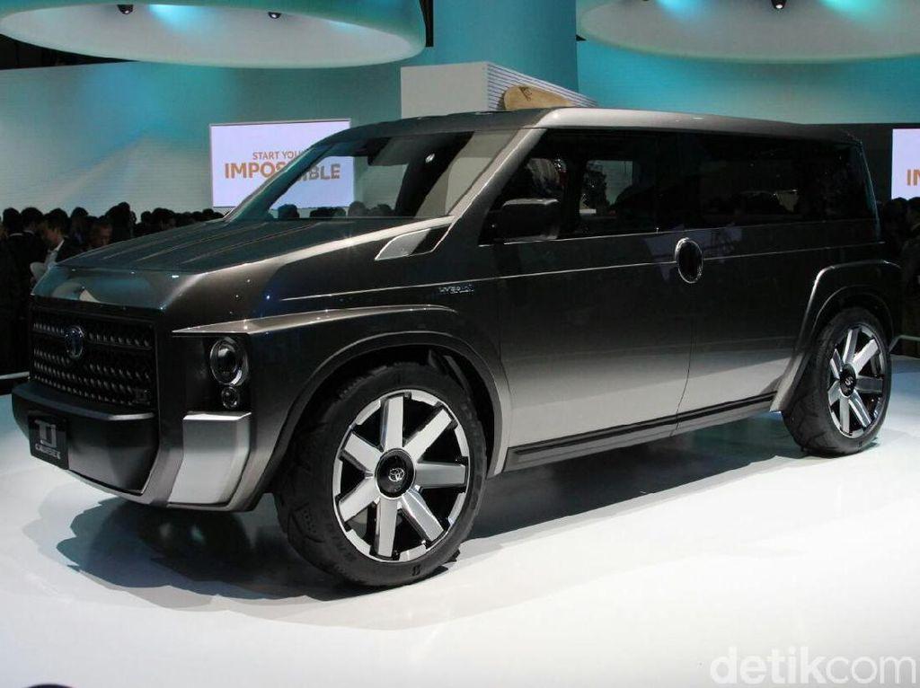 Crossover Rasa Mobil Van ala Toyota TJ Cruiser