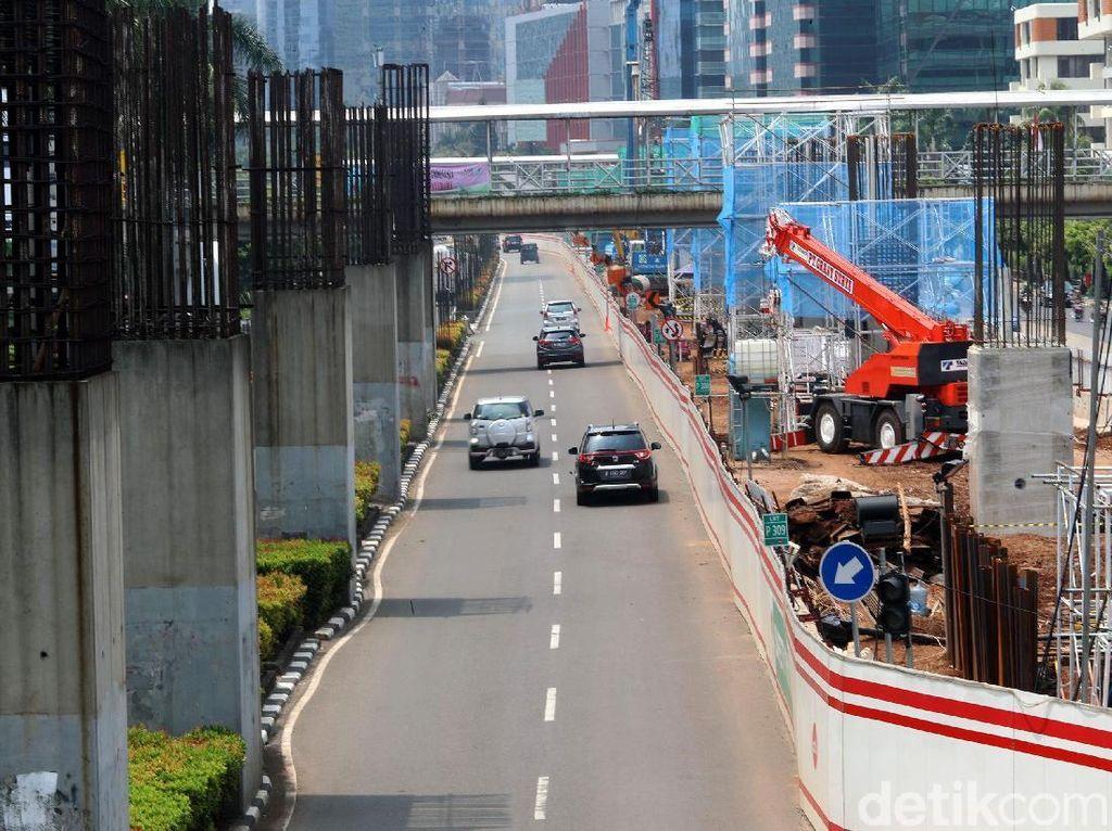 PKB DKI Minta Pemprov Cabut Tiang Konstruksi Monorel Jakarta