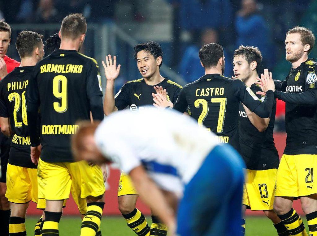 Tekuk Magdeburg 5-0, Dortmund Lolos ke Babak Ketiga DFB Pokal