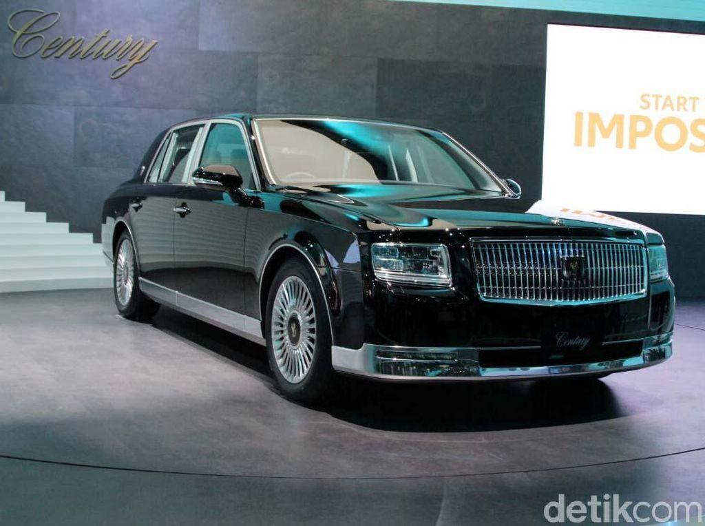 Model Baru Mobil Kaisar Jepang Dibanderol Rp 2,5 Miliar