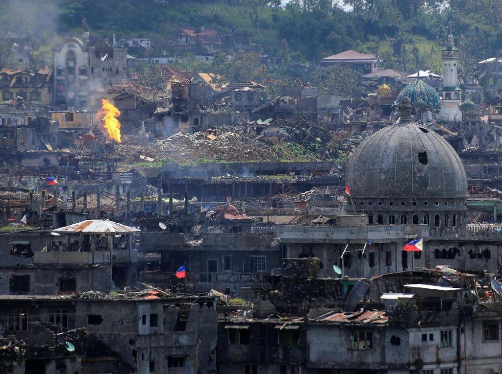Pemimpin Militan Pro-ISIS Tewas dalam Bentrokan dengan Tentara Filipina