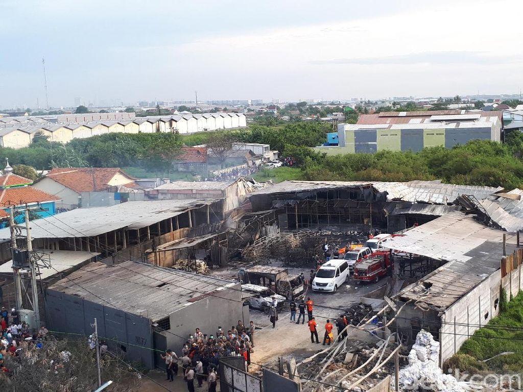 Tak Ada Data, Identifikasi Korban Ledakan Pabrik Kembang Api Sulit