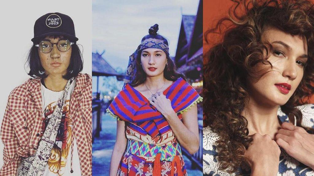 Cantiknya Nadine Chandrawinata dari Lusuh, Etnik, hingga Full Makeup