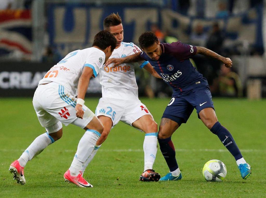 Terungkap! Taktik Marseille untuk Redam Neymar Sampai Dikartu Merah