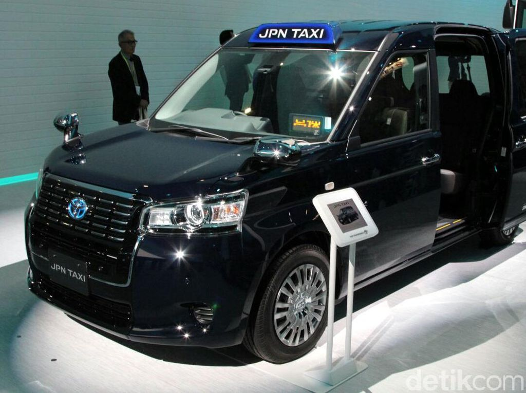 Taksi untuk Pengunjung Olimpiade 2020