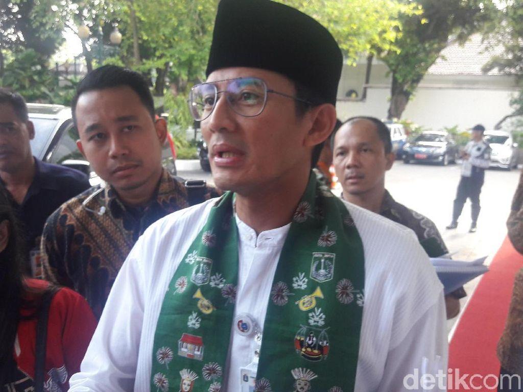 Sandiaga akan Kaji Selama Sebulan Ide Revolusi Putih Prabowo
