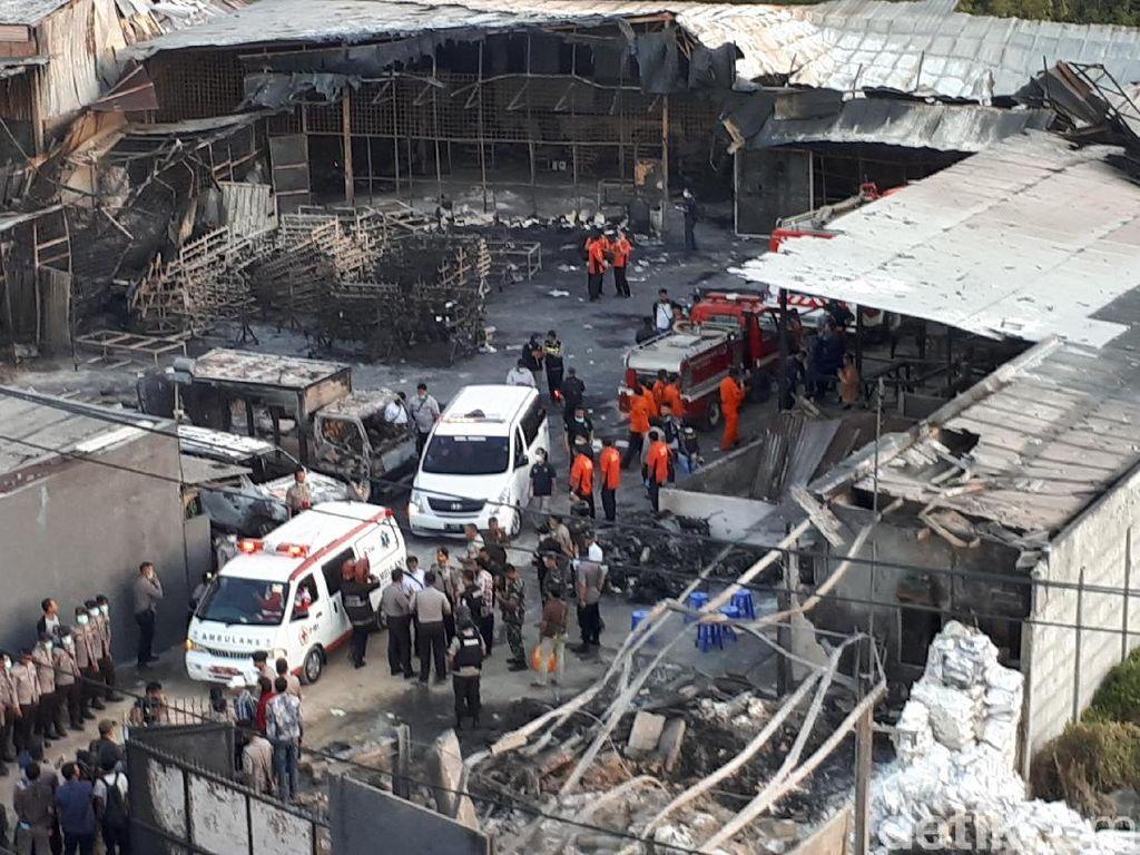 Belajar dari Ledakan Kosambi, Ini Langkah Tangani Korban Luka Bakar
