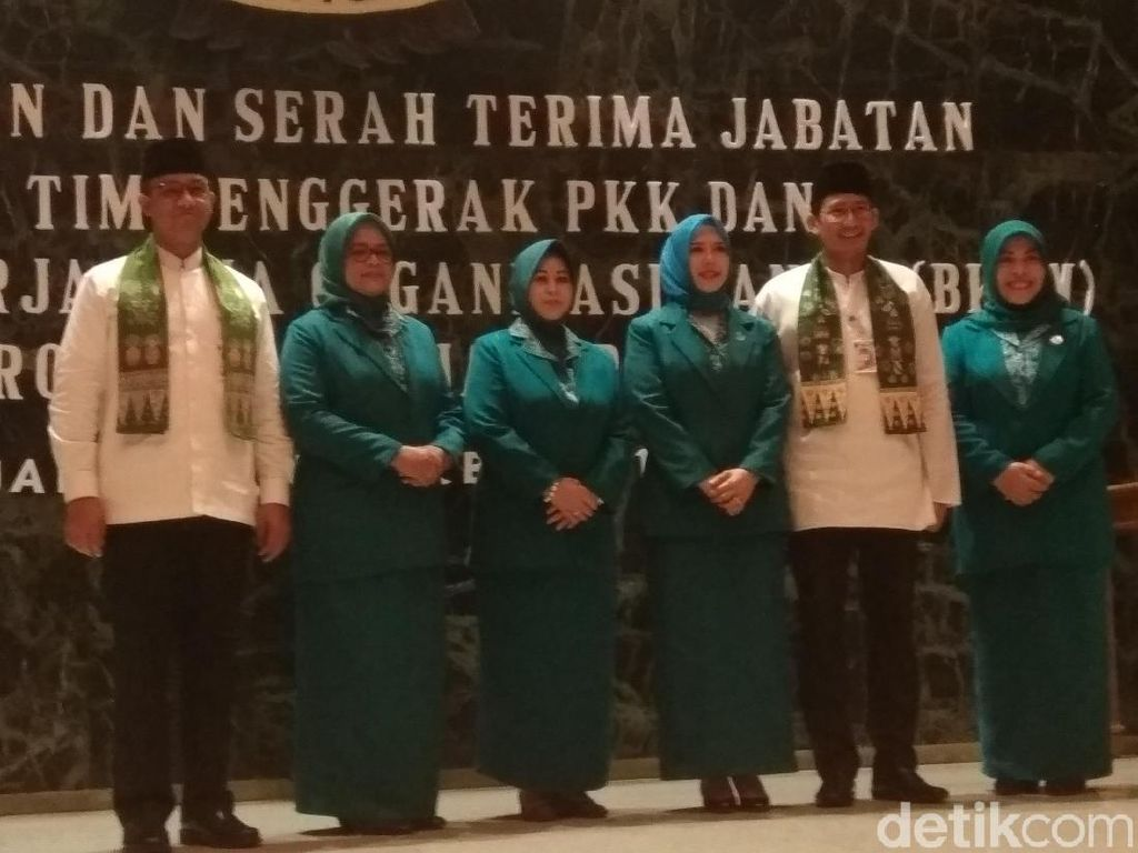 Istri Anies Baswedan Dilantik Jadi Ketua PKK DKI Jakarta