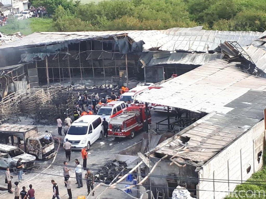 47 Orang Tewas, Ledakan Pabrik Petasan di Kosambi Disorot Dunia