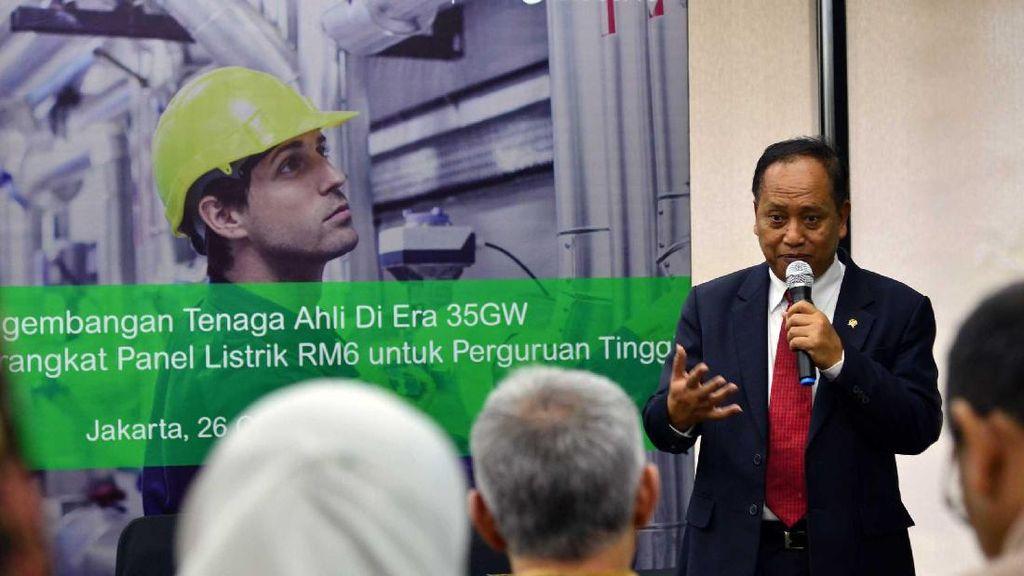 Panel Listrik untuk Realisasi Program 35.000 MW