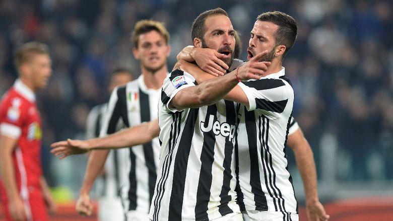 Juventus Hancurkan Spal 4-1