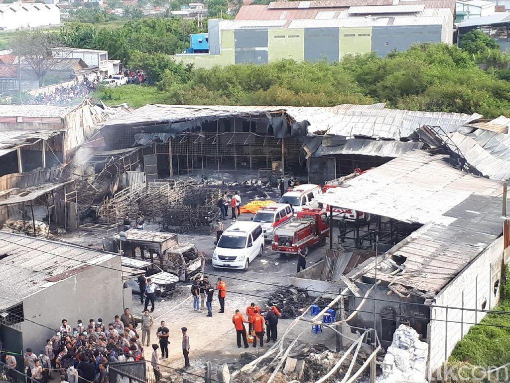 Biaya Pengobatan Korban Ledakan Pabrik Kosambi Ditanggung Jamkesda