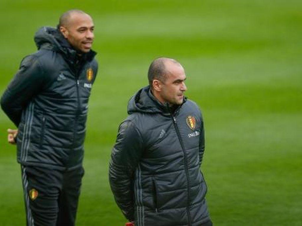 Betapa Pentingnya Thierry Henry untuk Timnas Belgia