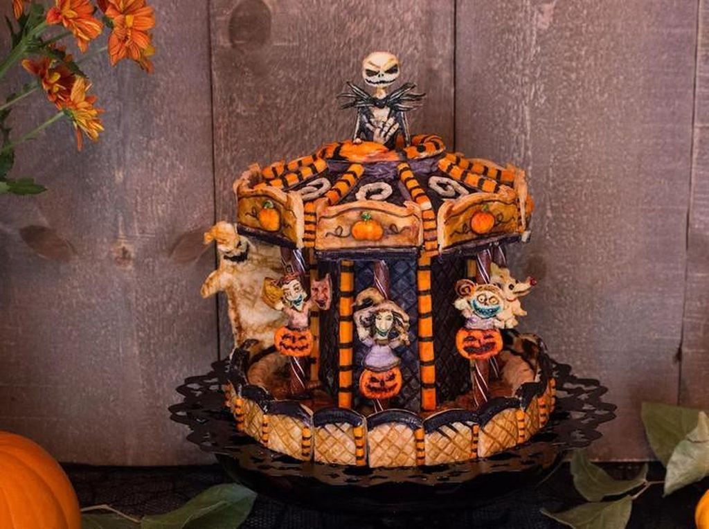 13 Pie Bertema Halloween dengan Bentuk Mummy hingga Tengkorak!