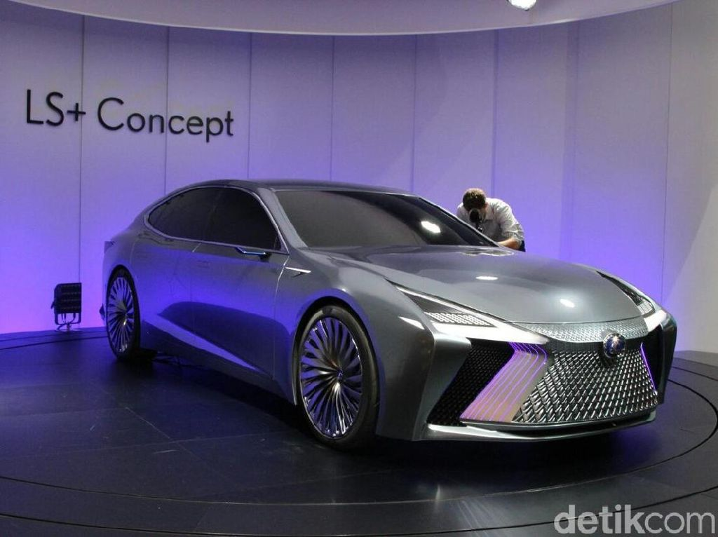 Lexus LS+ Concept, Mobil Masa Depan Ikut Mejeng di GIIAS 2018