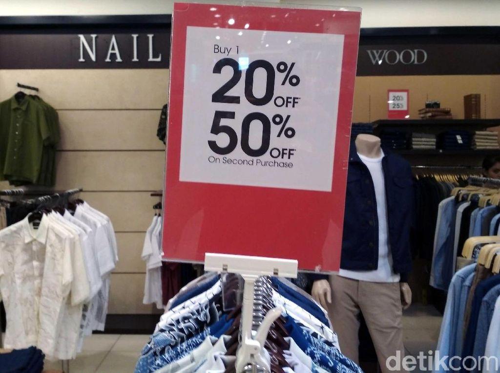 Fesyen Jadi Produk Ritel Yang Penjualannya Paling Lesu