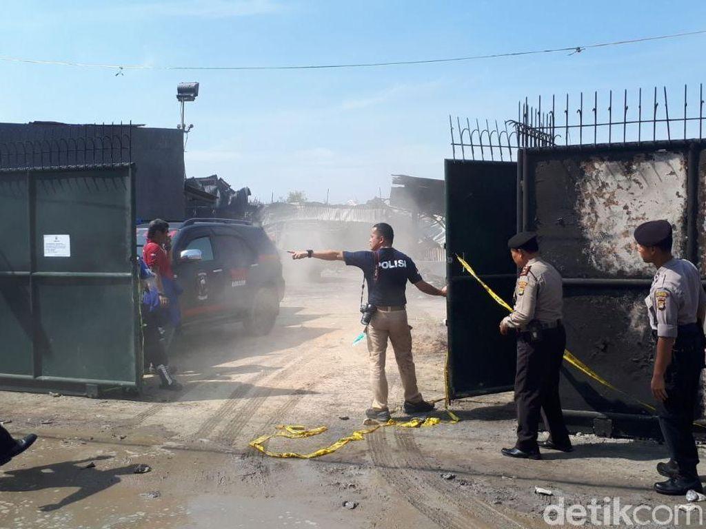Polisi Cek Perizinan Pabrik Kembang Api di Kosambi