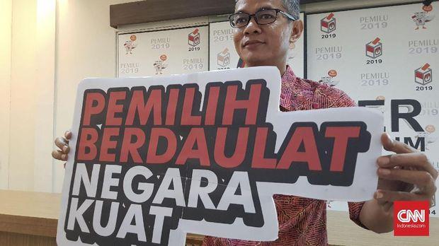 Komisioner KPU Wahyu Setiawan, di Jakarta, beberapa waktu lalu.