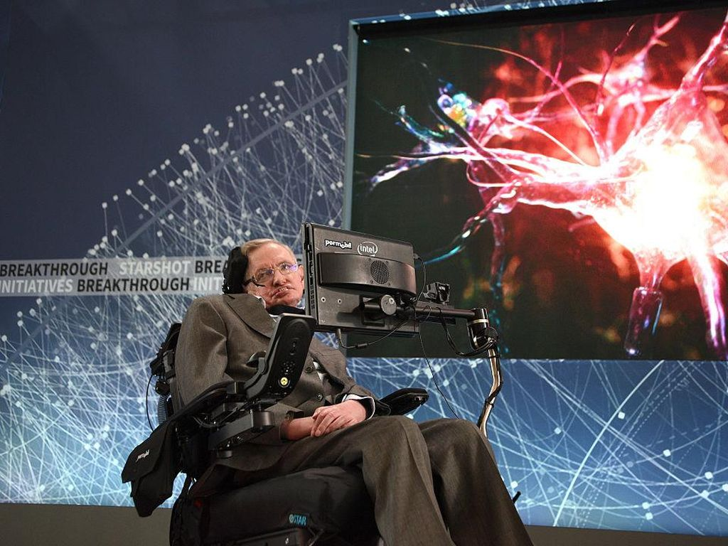 Mengenang Penjelasan Stephen Hawking tentang Lubang Hitam