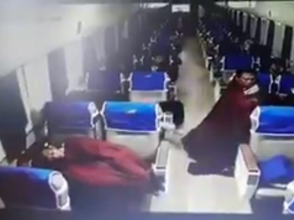 Imbauan PT KAI agar Pencurian di Kereta Tak Terjadi Lagi