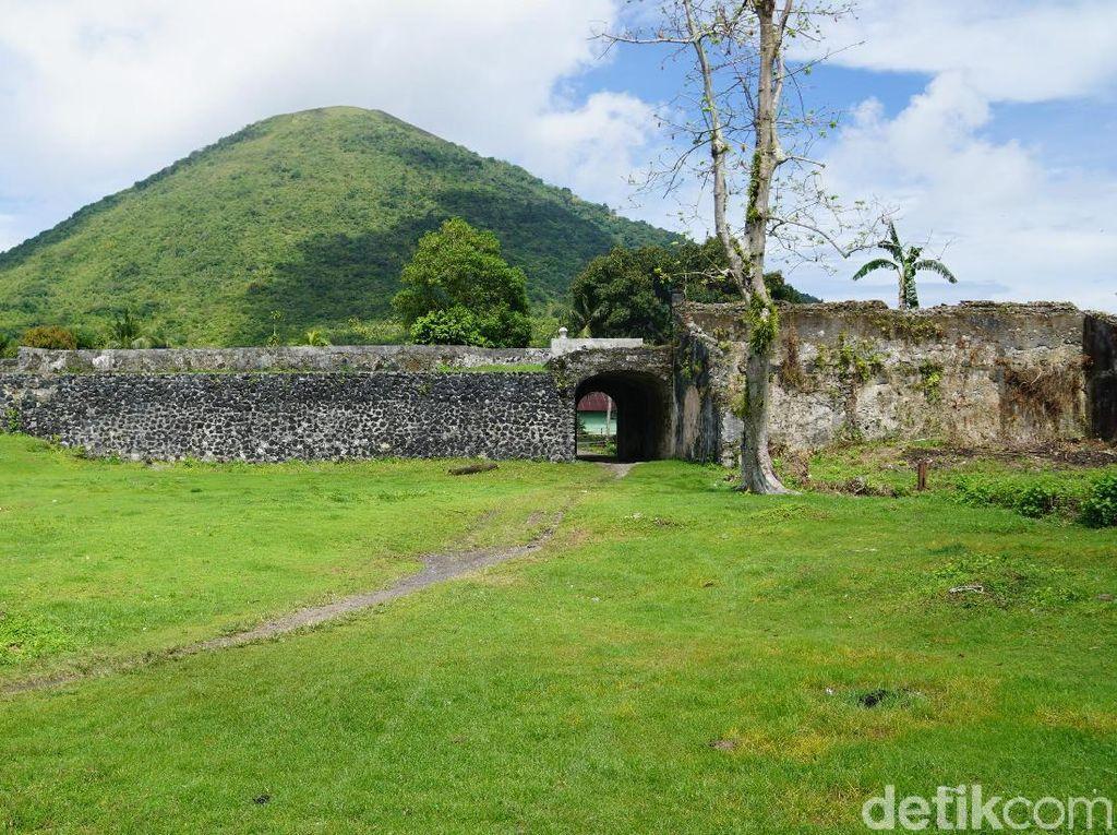 Foto: Benteng Cantik dan Tragedi Pembantaian di Banda Neira